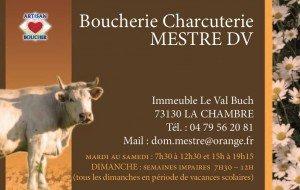 Sponsor : Boucherie Mestre