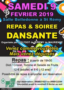 soiree FOOT 2019